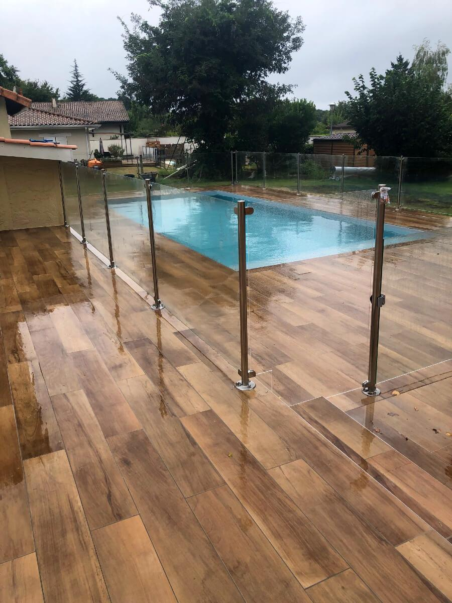 Barrière de sécurité piscine Cestas