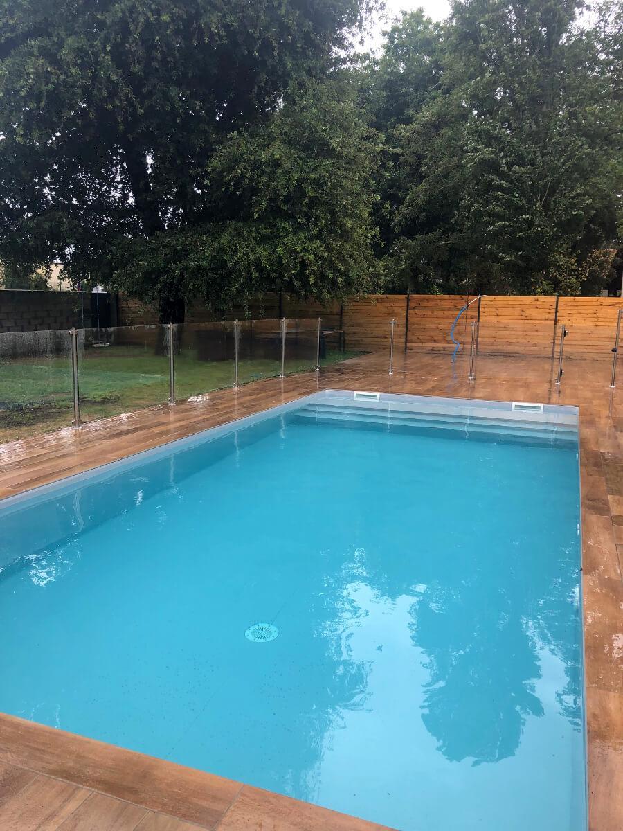 Barrière protection piscine Cestas