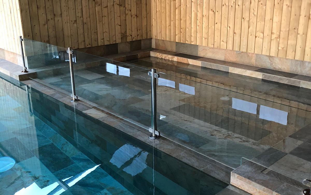 Barrière sécurité piscine - séparation pataugeoire