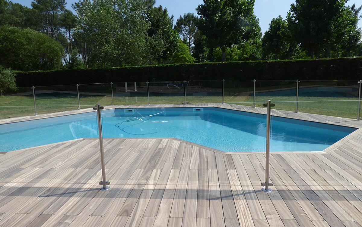 Barrière sécurité piscine privative
